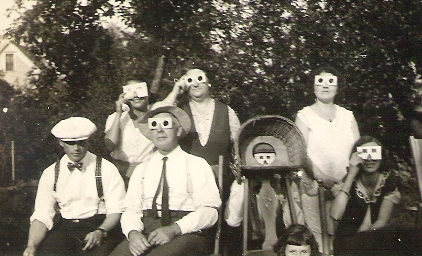 SOLAR ECLIPSE 1932